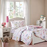 Mi Zone Kids Bonjour Twin Comforter Sets for Girls...