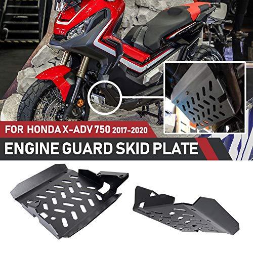 Motorradzubehör 17 18 19 Aluminium-Unterfahrschutz Motorschutz Chassis-Schutzabdeckung für 2017-2019 H-o-n-d-a X-ADV 750 XADV 750 XADV750 2018