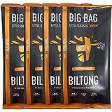 BEEFit Snacks 1kg of Peri Peri Biltong, High Protein, Healthy, Low Sugar, On The Go Snack - Beef...