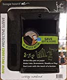 Boogie Board 8.5 Jot Inch LCD Writing Tablet Value Bundle with Neoprene Sleeve and Stylus-Black