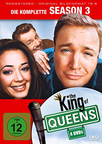 The King of Queens - Season 3 - Remastered [4 DVDs]