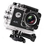 2 Years Replacement Warranty All Over India *{4K 16 MP & 170° ULTRA WIDE ANGLE}: 4K wifi action camera takes high-quality 16MP photos with an action cam featuring professional 4K / 30FPS Ultra HD video with 2 Inch LCD screen and 170° degree viewable ...