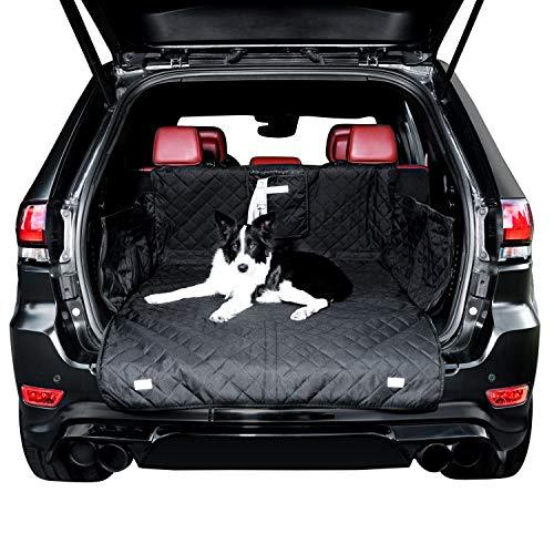 BedDog Autoschondecke für den Kofferraum oder Rücksitz, Hundematte, Kofferraumauskleidung mit Ladekantenschutz - Kofferraum