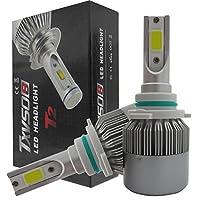 SHINA 9006 HB4 LEDヘッドライト LED電球 110W 20000LM 6000K コンバージョンキット 車用 ビームバルブ LEDバルブ COB 2個セット