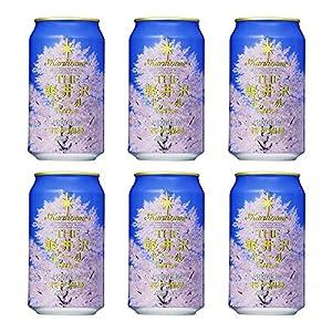 ビール クラフトビール 軽井沢ビール 桜花爛漫プレミアム 350ml缶×6本 セット日本画家 千住博画伯名画ラベル N-SO