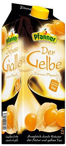 Pfanner Gelber Tee Zitrone Physalis 2l