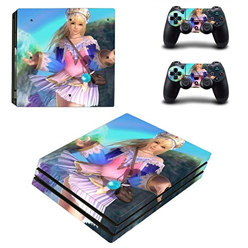 FENGLING Decal Skin per PS4 PRO Skin per Console Playstation 4 e 2 Controller Adesivi per Skin PS4 PRO Vinile - Game Dead Or Alive 6