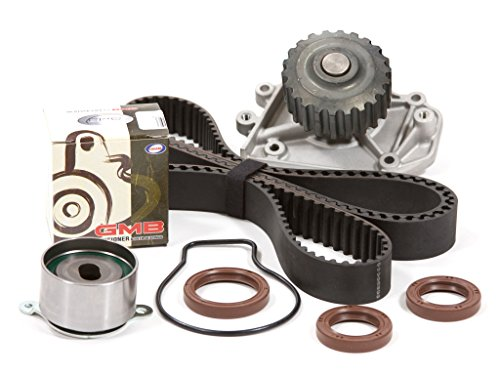 Evergreen TBK247WPT Compatible With 94-01 Acura Integra GSR Type-R VTEC 1.8 DOHC B18C1 B18C5 Timing Belt Kit Water Pump