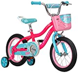 Schwinn Elm Girls Bike for Toddlers and Kids, 14-inch Wheels, Pink