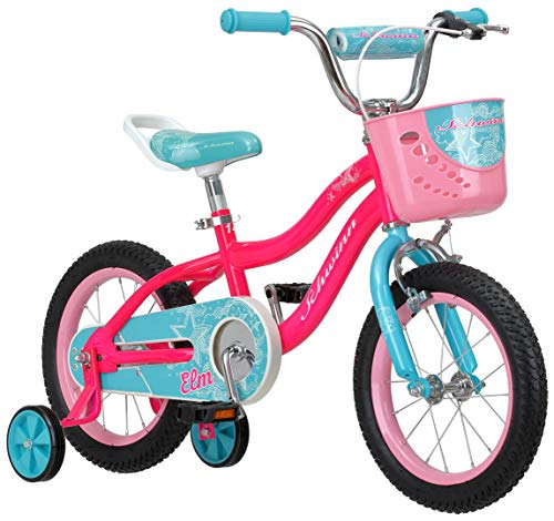 Schwinn Girls' Elm Bicycle, Pink, 14-inch Wheels