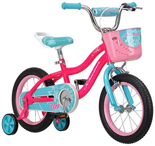 Schwinn Elm Girls Bike for Toddlers and Kids, 14-inch Wheels, Pink