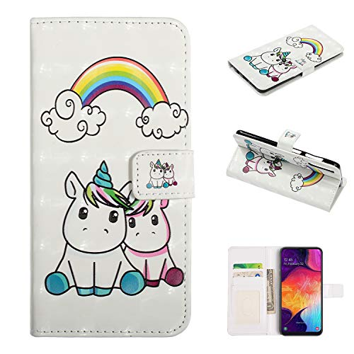Purchase Shinyzone Cartoon Wallet Case for Samsung Galaxy A70,PU Leather Case with Card Slots Holder...