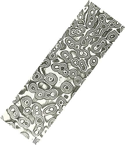 Aibote Messer aus Rostfreiem Stehlen Damaststahl Billet Leere Klinge Bar für benutzerdefinierte DIY Messerherstellung