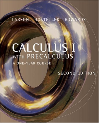 Calculus I with Precalculus: A One-Year Course