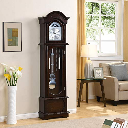 FirsTime Espresso Grandfather Clock