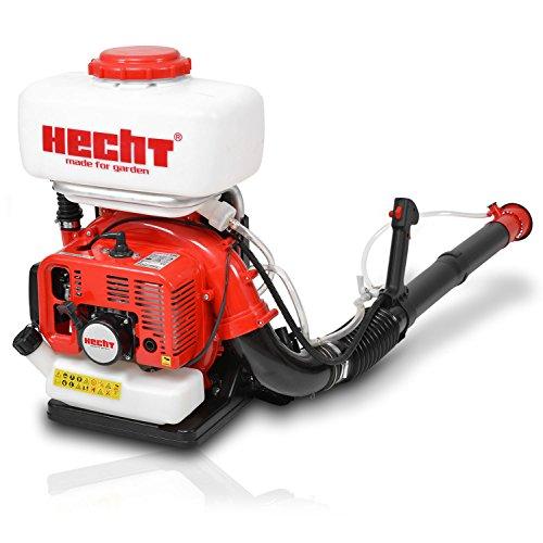 HECHT Benzin-Motorspritze 459 Rücken-Sprüher (als Düngerspritze, Granulat- und Salzstreuer nutzbar)