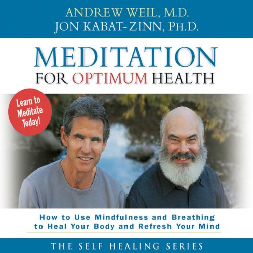 Meditation for Optimum Health audiobook cover art
