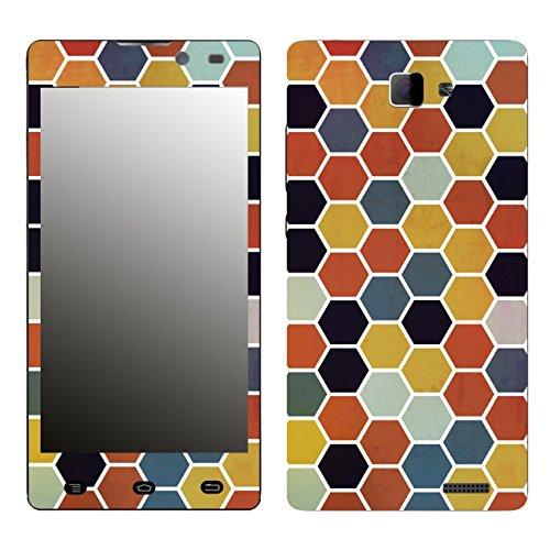 Disagu SF-106412_1206 Design Folie für Archos 50 Neon - Motiv Polygone 03