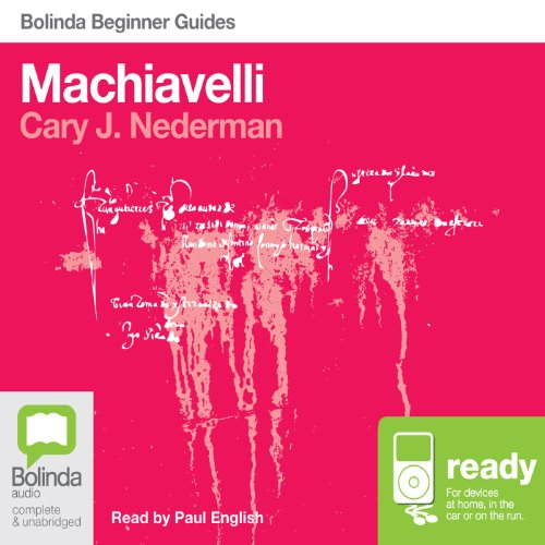 Machiavelli: Bolinda Beginner Guides audiobook cover art