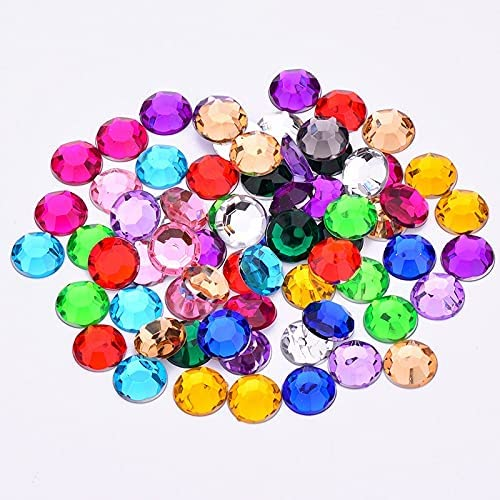 Philadelphia Mall WEIMEIDA SHUIZUAN823 10000pcs Colorful Crystal Limited time trial price R Flat Back Round