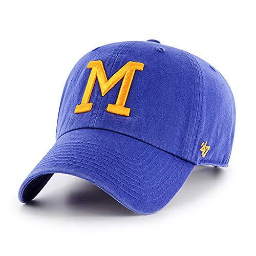 '47 MLB Cooperstown Clean Up verstellbare Mütze für Erwachsene, Unisex-Erwachsene, blau, Einheitsgröße