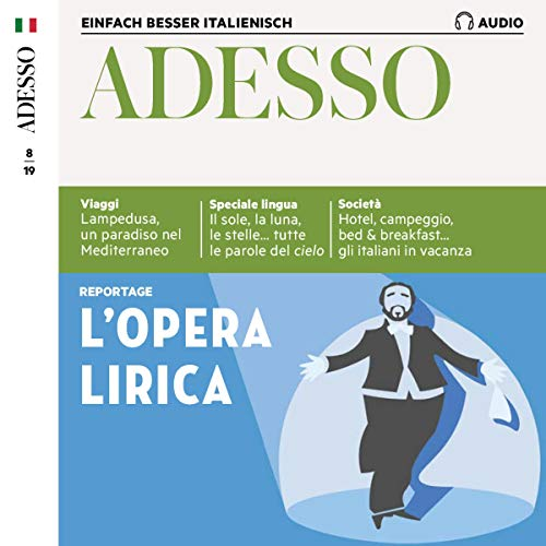 Adesso Audio - L'opera lirica. 8/2019 Titelbild