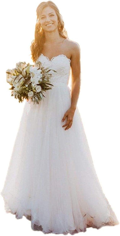 CiONE Aline Wedding Dress Elegant Lace Bridal Gown Tulle