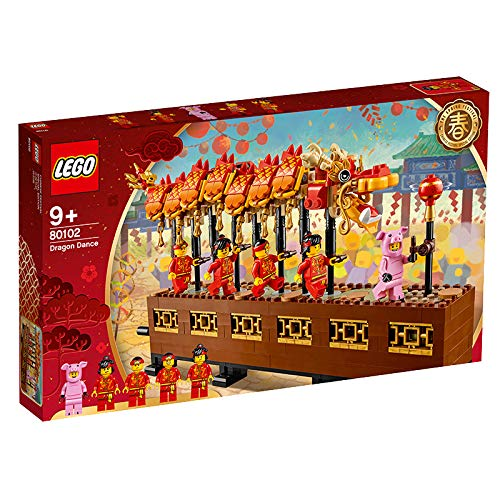 LEGO Dragon Dance - Recreate The Dragon Dance in Style for Play and Display!