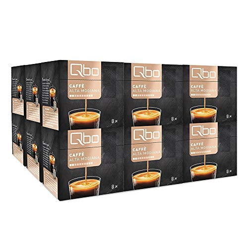 Tchibo Qbo - Caffè Alta Mogiana Kapseln, 144 Stück - 18 x 8 (Kaffee, nussig)