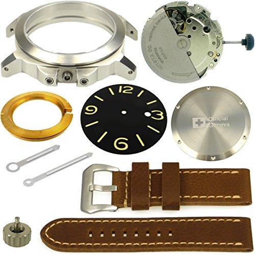 Uhrenbausatz No. 4 Armbanduhr 1950 von BULLONGÈ