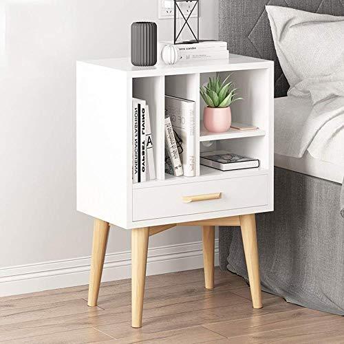 TXXM® Herstellung Nachttisch Holzplattenschubladenschrank mit starken Tragfähigkeits for Schlafzimmer, Studie, Etc. Praktische Möbel (Color : B)