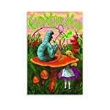 xiaoxian Poster Alice im Wunderland, dekoratives Gemälde,