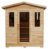 Grandby 3-Person Outdoor Sauna