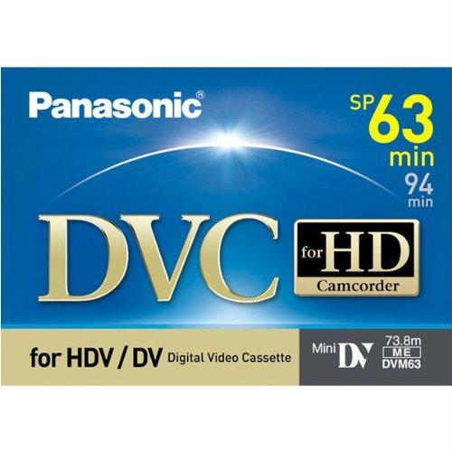 Best Prices! Panasonic AY-DVM63HD MiniDV Cassette (63 Minute)