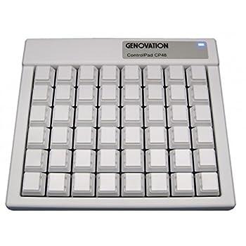 Genovation ControlPad CP48 Mac USB ID