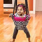 Jukmen Baby Jumper Door Bouncer, Baby Fitness Exerciser Baby Jumper Baby Learn to walk Trainer Bouncer Doorway Swing Jump Up Seat Toddler Infant 6-24 Months