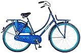 Kubbinga Femme Salutoni Urban Transport Jeans Bike Taille Unique Bleu Mat