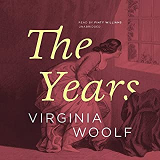 The Years audiobook cover art