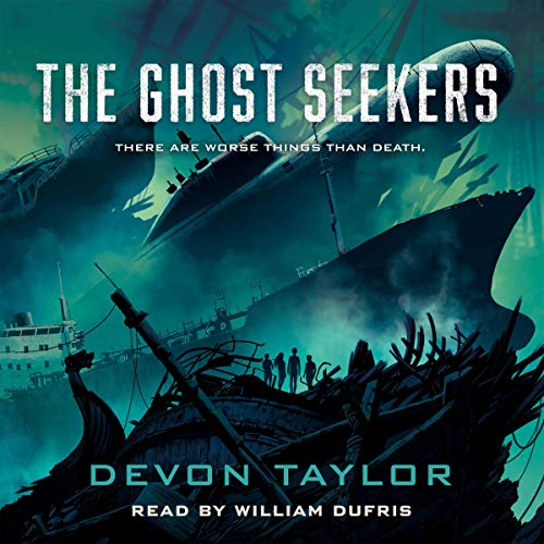 The Ghost Seekers audiobook cover art