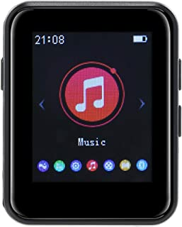 Ajcoflt X1 8GB MP3 Player Full Touch Screen Portable Music Player BT5.0 FM Radio Receiver with Headphones