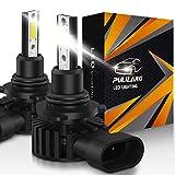 Bombillas de faros LED HB4 / 9006 Luz de coche LED 60W 12000 lúmenes Conversión de faros a prueba de agua súper brillante Temperatura de color 6500K IP65 Paquete de 2