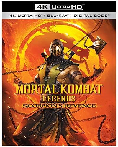 Mortal Kombat Legends: Scorpion's Revenge (4K Ultra HD/Blu-ray/Digital)