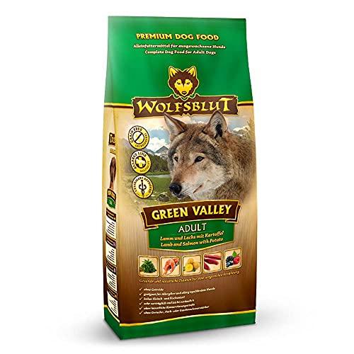 Wolfsblut | Green Valley | 15 kg | Lamm und Lachs | Trockenfutter | Hundefutter | Getreidefrei