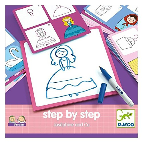 Step by step Joséphine and co Djeco