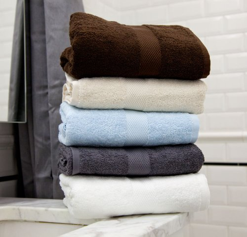 Magnolia Organics Towel Set - Dark Grey