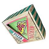 Sockswear Herren Pizza Socken Größe 42-46 Farbe Grün