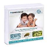 HOMEIDEAS Premium Waterproof Mattress Protector, Comfortable & Quiet,...