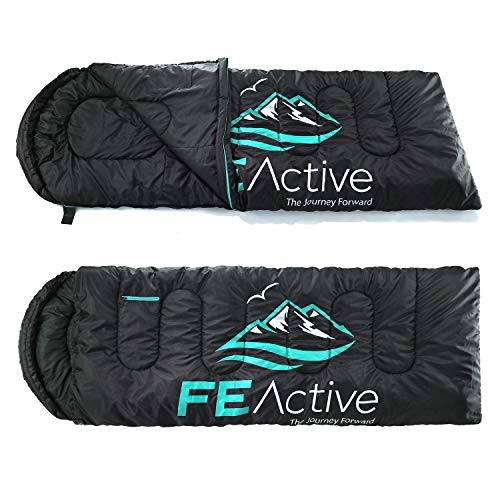 FE Active - Saco Dormir Individual Extra Largo Capucha