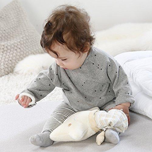 Fehn 154566 Spieluhr Stern – Aufzieh-Spieluhr mit herausnehmbarem Spielwerk zum Aufhängen an Bett, Kinderwagen oder Babyschale, für Babys und Kleinkinder ab 0+ Monaten - 2