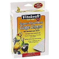 VIT CAGE LINERS BIRD 20X18 7CT